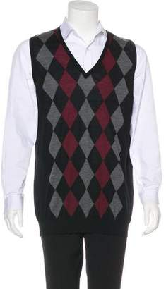 Prada 2016 Argyle Sweater Vest