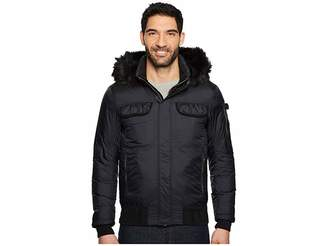 Tommy Jeans Down Jacket with Faux Fur Hood Men's Coat