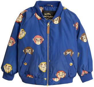 Mini Rodini Monkey Baseball Jacket