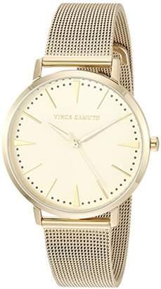 Vince Camuto Women's VC/5344CHGB -Tone Mesh Bracelet Watch