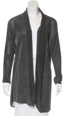 L'Agence Knit Longline Cardigan