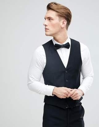 French Connection Slim Fit Tuxedo Vest