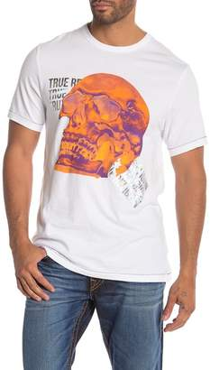 True Religion Short Sleeve Thermal Skull Tee