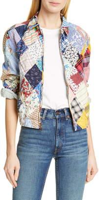 Polo Ralph Lauren Patchwork Cotton & Linen Jacket