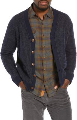 Nifty Genius Regular Fit Elbow Patch Cardigan