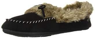 Acorn Women's Cozy Faux Fur Moc Slipper,XL Standard Width US