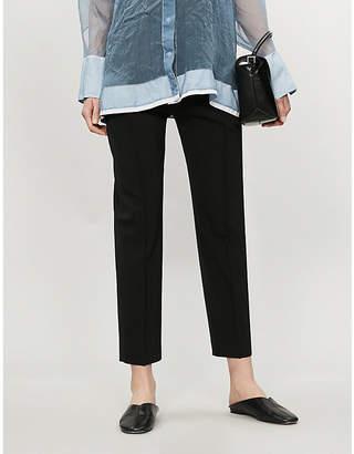 5cf4231da78 Joseph Dalton Comfort high-rise wool-blend tapered trousers