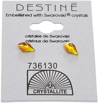 Crystallite Fire Opal Flame Earring