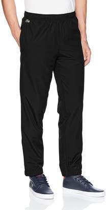 Lacoste Men's Taffetas Diamante Pant with Side Stripe, XH3338