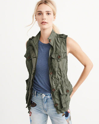 Military Twill Vest $88 thestylecure.com