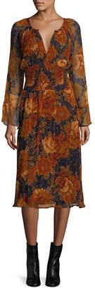 Antik Batik Mony Floral Blouson Dress