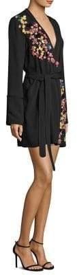Tanya Taylor Luna Embroidered Dress