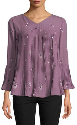 Style&Co. STYLE & CO. Petite Blooming Twin Blouse