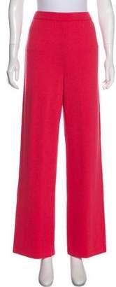 St. John Knit High-Rise Pants