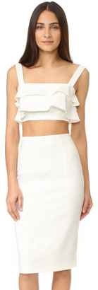 Black Halo Isabella Two Piece Sheath Dress $375 thestylecure.com