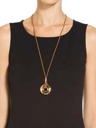 St. John Swarovski Crystal Pendant Necklace