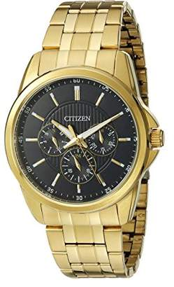 Citizen Men's Quartz Watch with 12/24 hour time and Day/Date