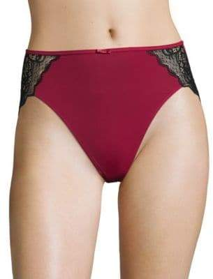 Bali Lace-Trimmed Bikini Bottom