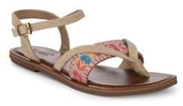 Toms Lexie Embroidered Sandals