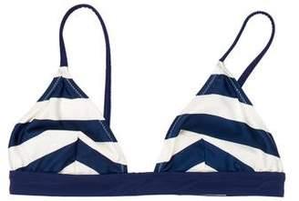 Solid & Striped Striped Swim Top w/ Tags