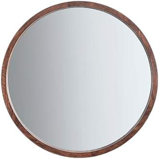 Round Wood Mirror Shopstyle Uk