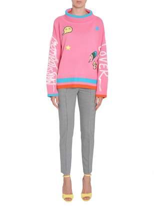 Mira Mikati Marshmallow Lover Turtle Neck Sweater