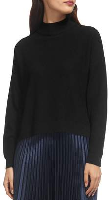 Whistles Textured Funnel Neck Sweater