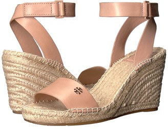 Tory Burch - Bima 2 Wedge Espadrille Women's Wedge Shoes $275 thestylecure.com