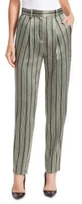Emporio Armani Multistripe Lurex Pants