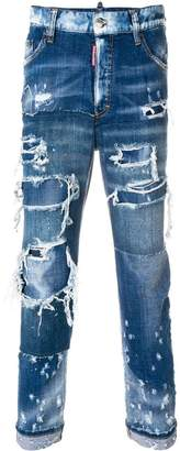 DSQUARED2 stretch Glam Head jeans