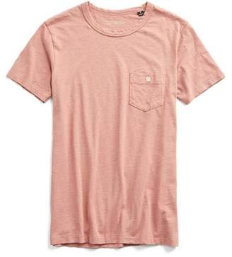 Todd Snyder Made in L.A. Pocket Garment Dyed T-Shirt in Dusty Pink