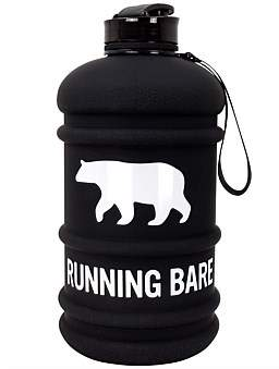 "Running Bare H20 Bare"" 2.2L Water Bottle"