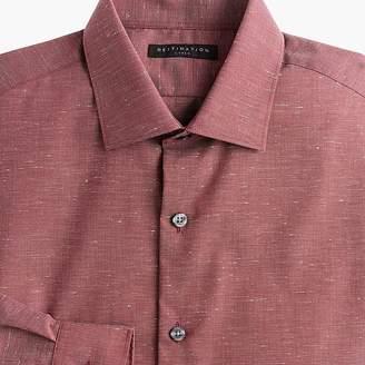J.Crew Destination slim-fit stretch textured dress shirt