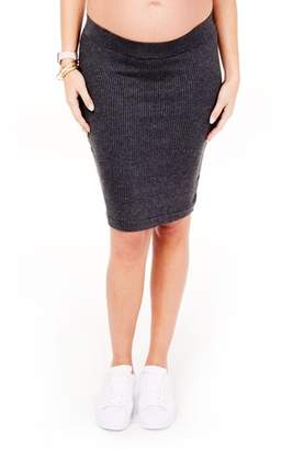 Ingrid & Isabel R Ribbed Maternity Sweater Skirt