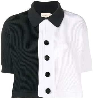 Simon Miller contrasting short sleeve sweater