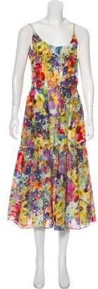 Stella McCartney Printed Midi Dress w/ Tags