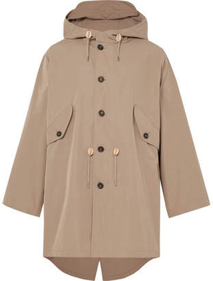 The Workers Club Cotton Packable Hooded Parka