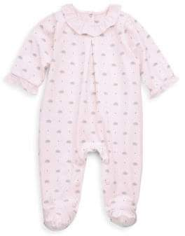 Tartine et Chocolat Baby's Hedgehog Cotton Footie