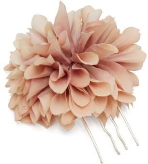 Dahlia Philippa Craddock Faux Flower Hairpin - Womens - Pink