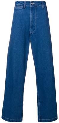 E. Tautz wide leg jeans