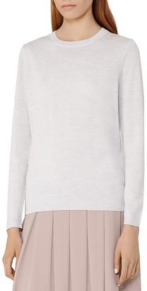 REISS Truth Merino Wool Sweater $160 thestylecure.com