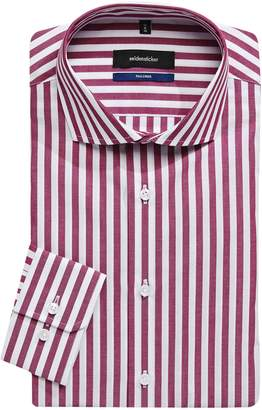 Seidensticker Tailored-Fit Striped Dress Shirt