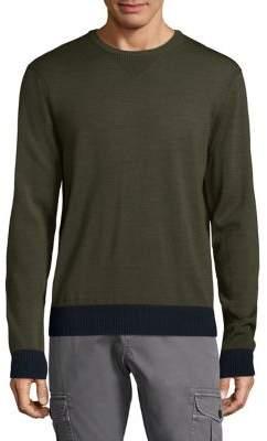 Michael Bastian Merino Wool Crewneck Sweater
