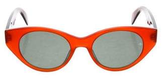 Rag & Bone Cat-Eye Tinted Sunglasses