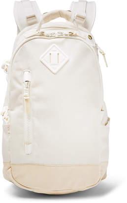 Visvim Leather-Trimmed CORDURA Backpack - Men - Cream