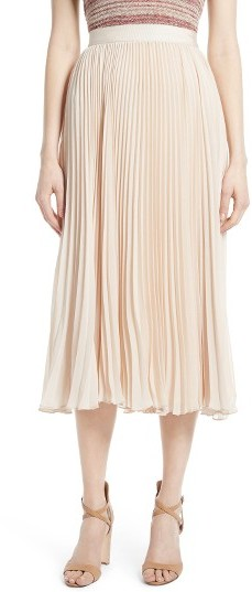 Alice + OliviaWomen's Alice + Olivia Essie Pleated Midi Skirt