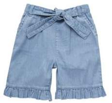 F&F Bow Front Cuffed Denim Trousers 5-6 years