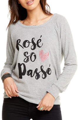 Chaser Rose Long-Sleeve Graphic Tee