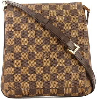 Louis Vuitton Damier Ebene Canvas Musette Salsa Short Strap Bag (Pre Owned)
