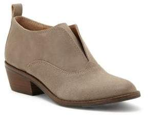 Lucky Brand Fimberly Suede Slip On Booties